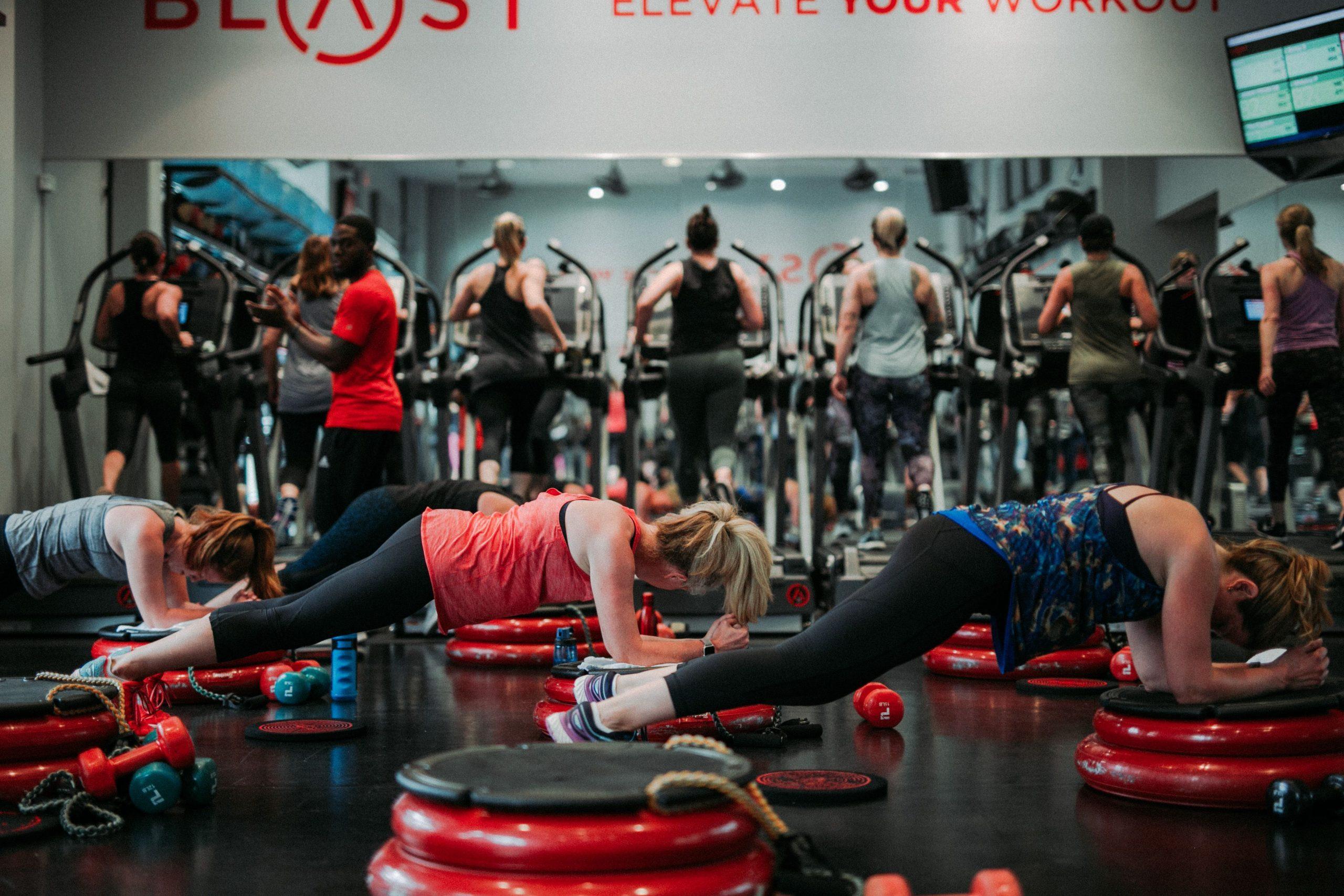 Freemotion Fitness Equipment For Boutique Studios BLAST 8