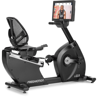 R22 9 Freemotion Recumbent Bike IFit Powered 1