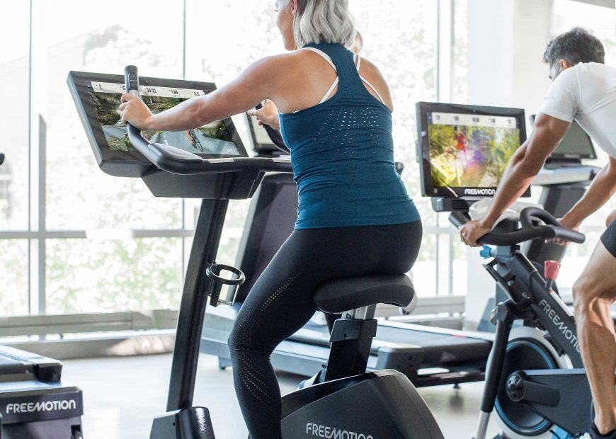 Freemotion 22 Series Upright Bike Accessible And Engaging Solution