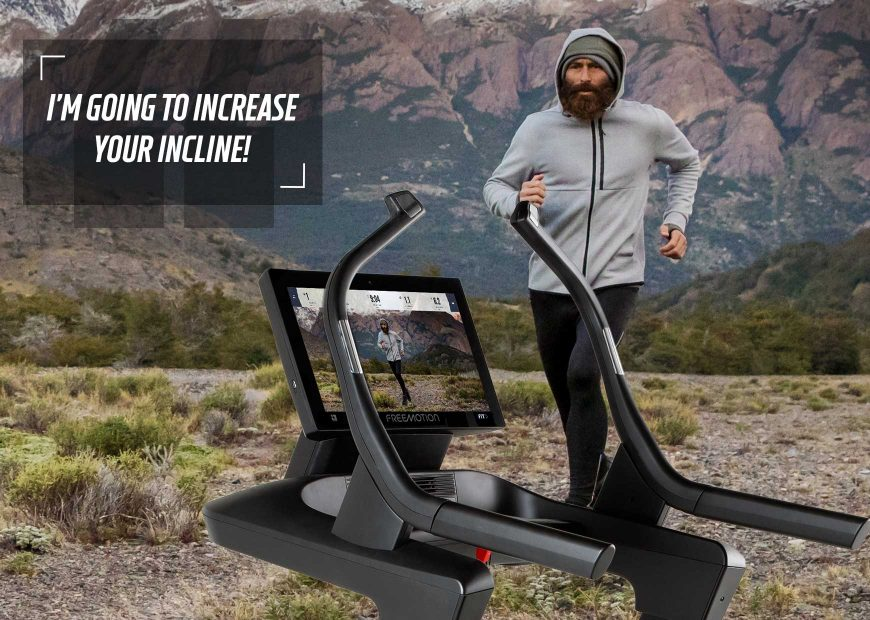 Freemotion 22 Series Auto Adjusting Technology Incline Trainer