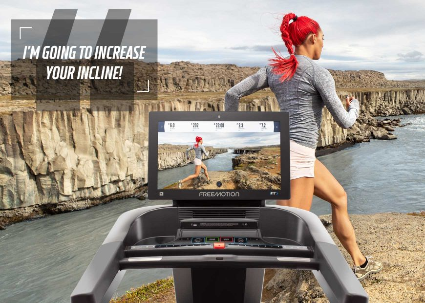Freemotion 22 Series Auto Adjusting Technology Treadmill