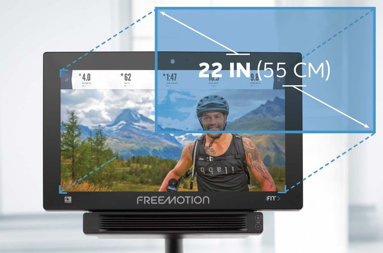 22 Inch Hd Display Feature 22 Series Freemotion CoachBike