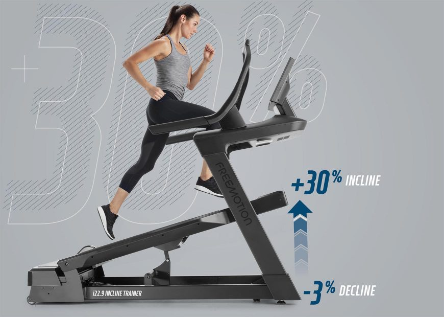 Freemotion 22 Series Incline Trainer Feature  Get Elevated Results