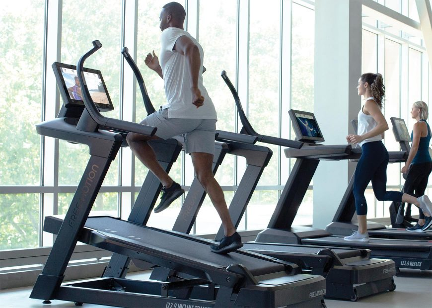 Freemotion 22 Series Incline Trainer Feature Images Increased Heart Rate
