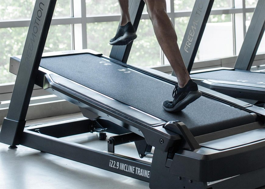 Freemotion 22 Series Incline Trainer Feature Images Two Workouts In One