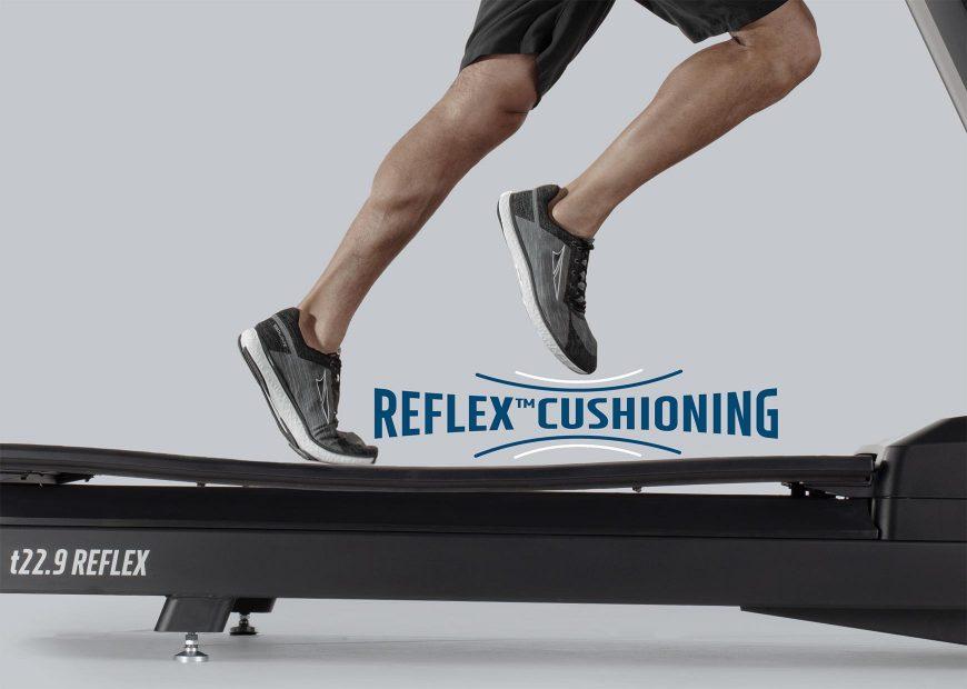 Freemotion 22 Series REFLEX Treadmill Reflex Cushioning