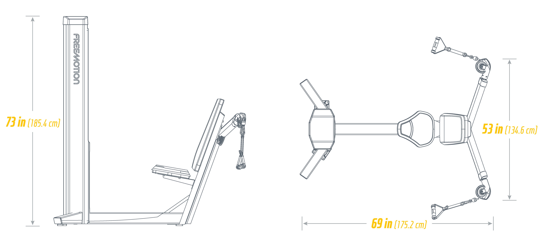 G600 Multi Plane Chest Footprint