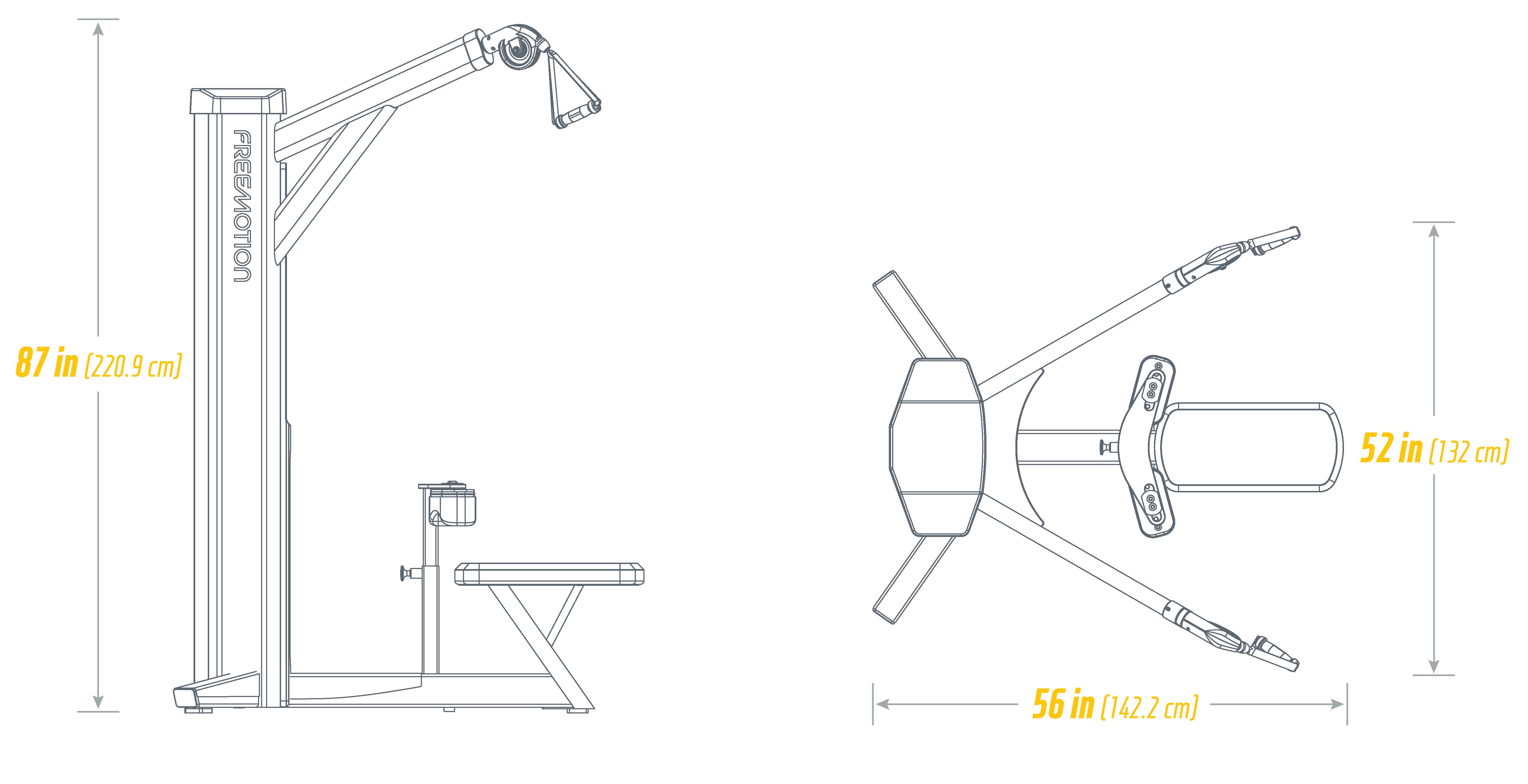 G620 Lat Footprint
