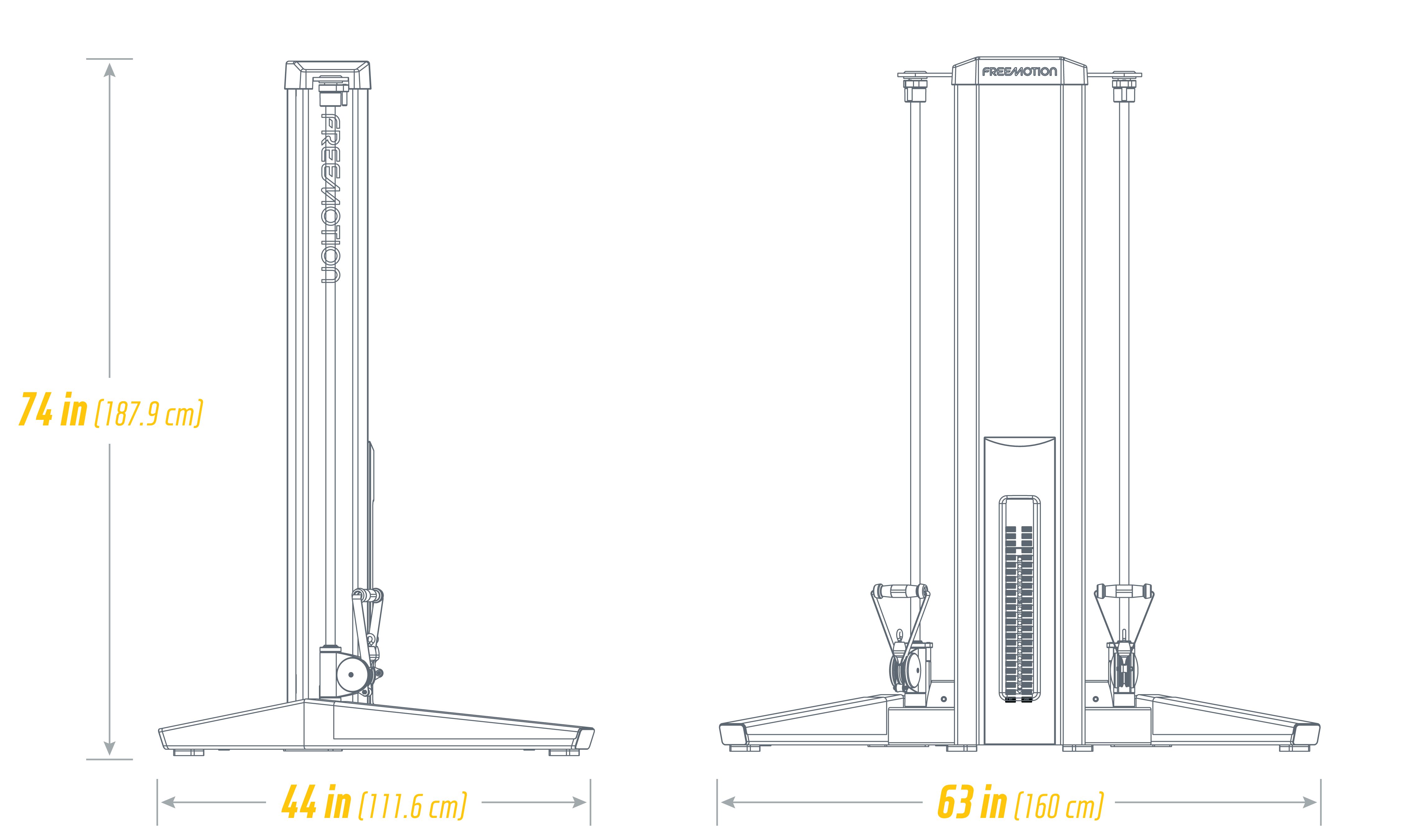 G626 Multi Pull:Rotation Low Footprint