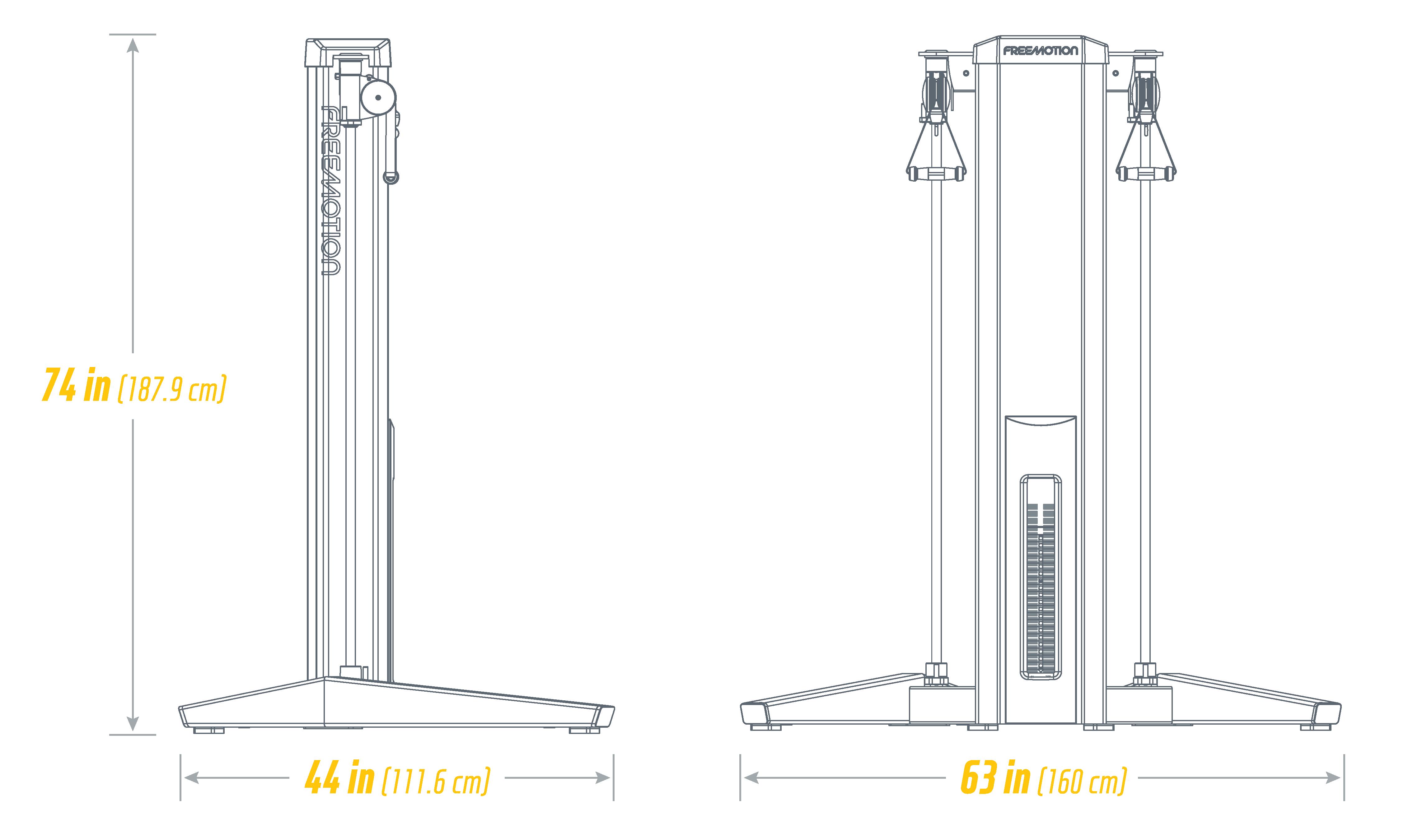 G627 Multi Pull Rotation High Footprint