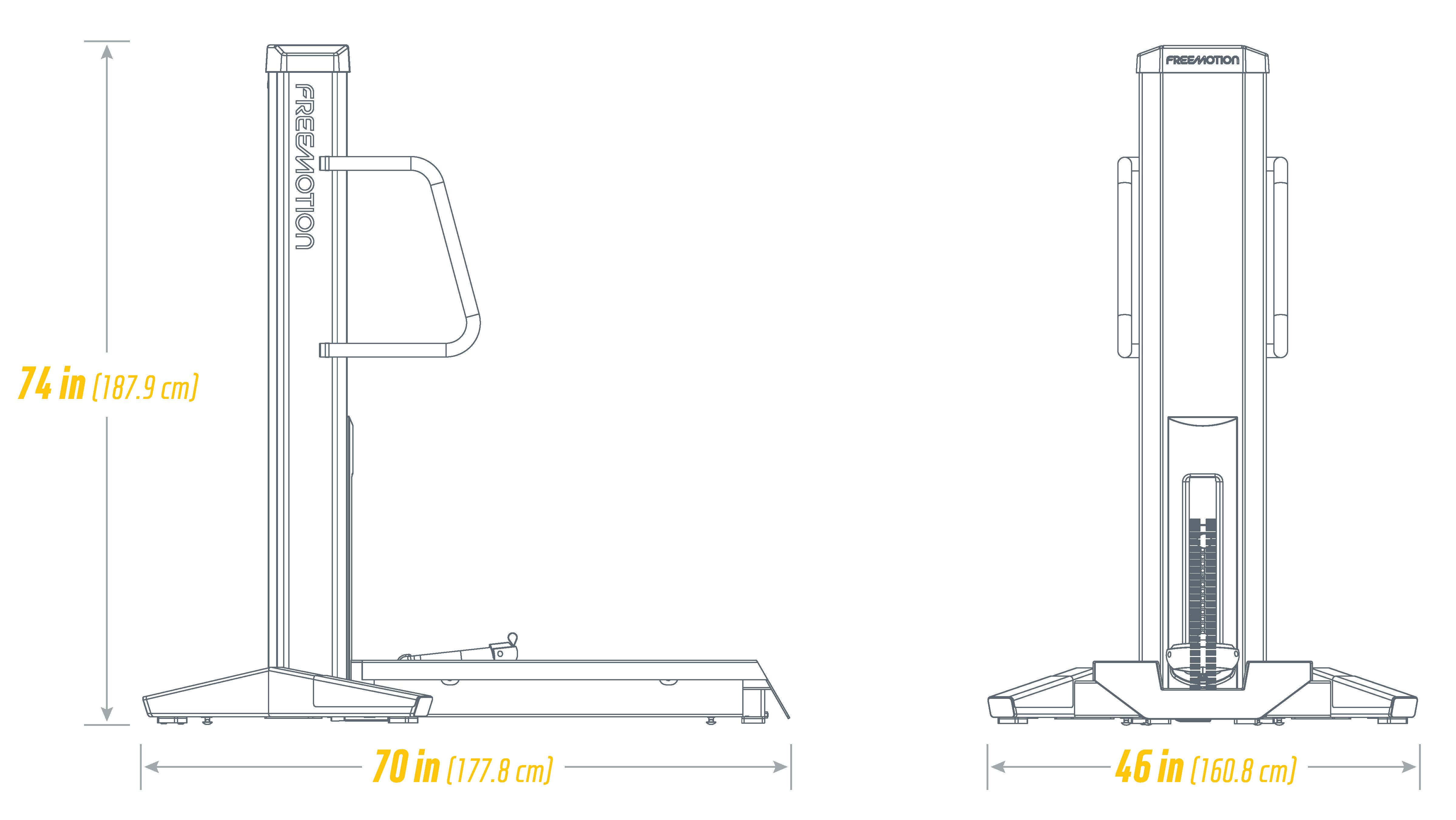 G629 Total Glute:Hamstring Footprint